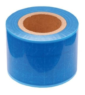 Sticky Barrier - Blue - Roll of 1200 pieces - 15cm x 10cm-0